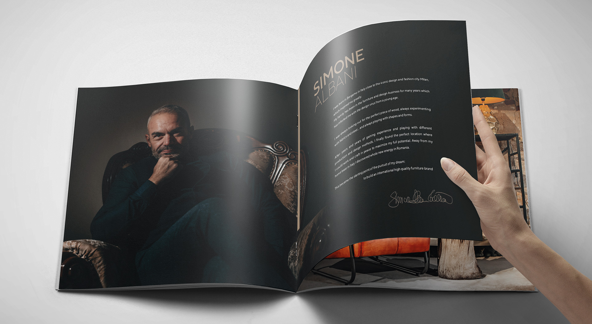 Simone Albani ROSH Studios Brochure