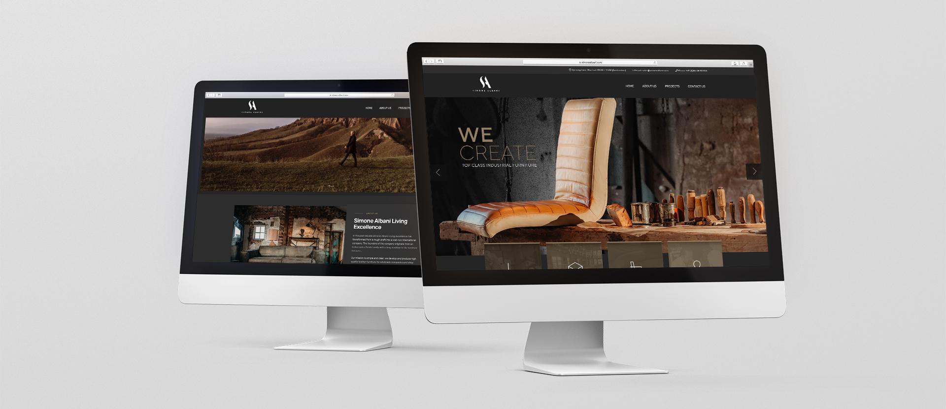 Simone Albani Website Rosh Studios