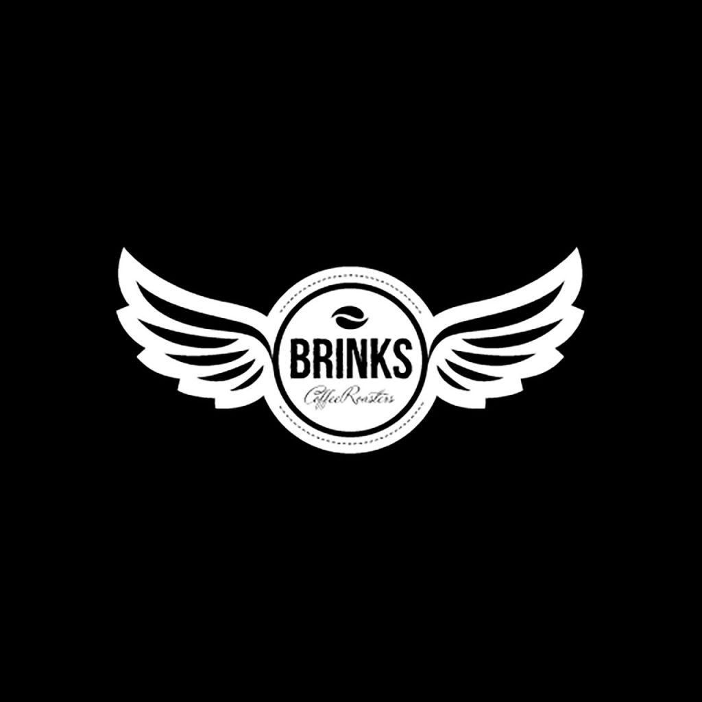 ROSH Studios Logo design Brinks Coffee