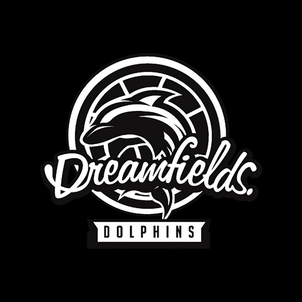 ROSH Studios Logo design Dreamfields Dolphins