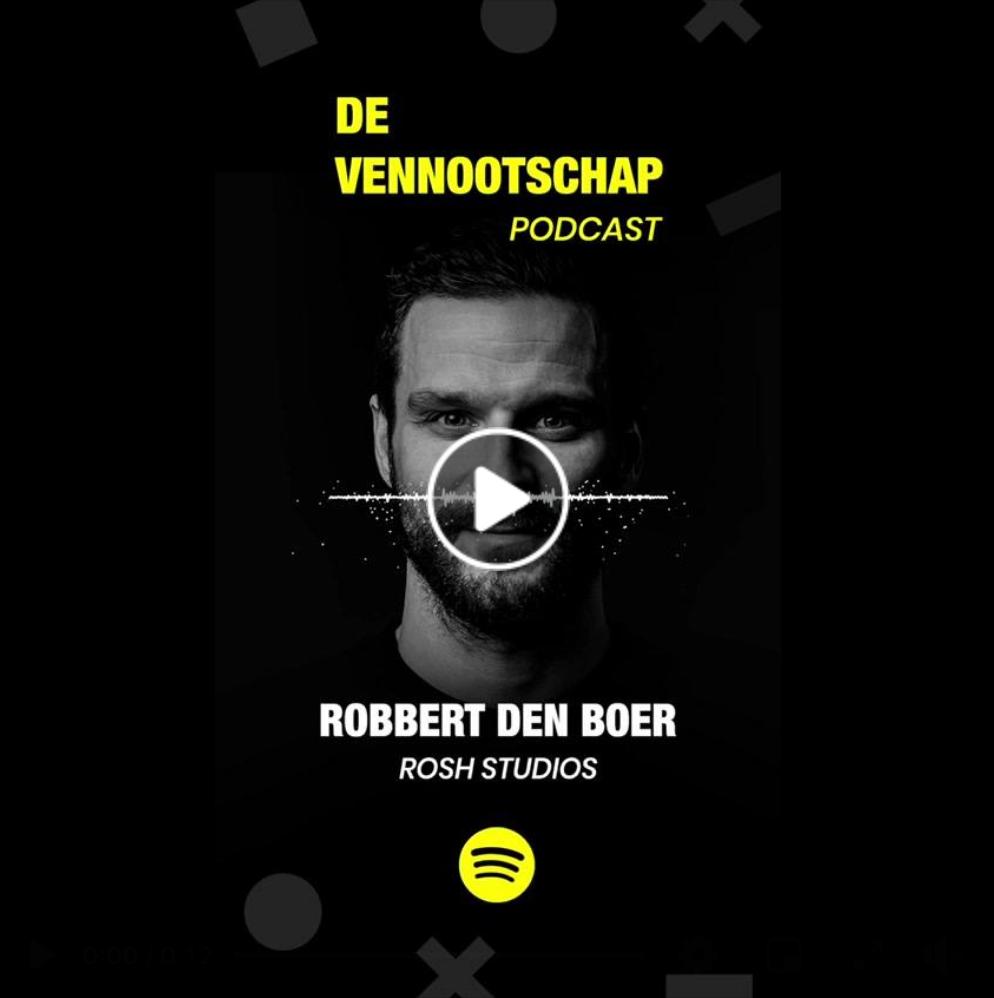 Robbert den Boer ROSH Studios Nijmegen Podcast